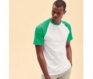 Fruit of the Loom SC237 - Short Sleeve Baseball T (61-026-0)
