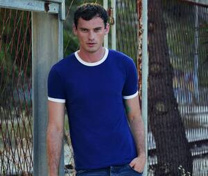 Fruit of the Loom SC245 - Camiseta Ringer para Hombre