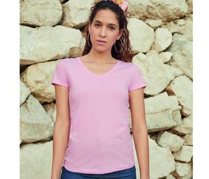 Fruit of the Loom SC601 - Lady Fit V Neck (61-398-0)