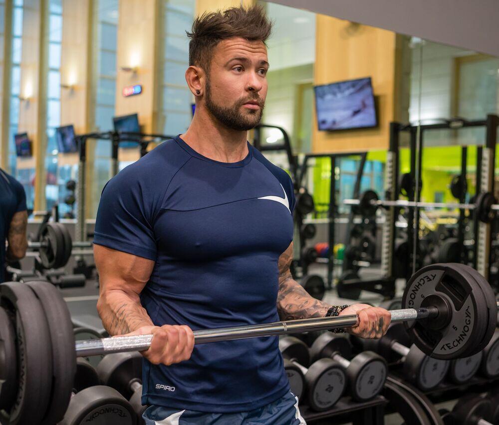 Spiro SP182 - T-Shirt Training Homme Sport