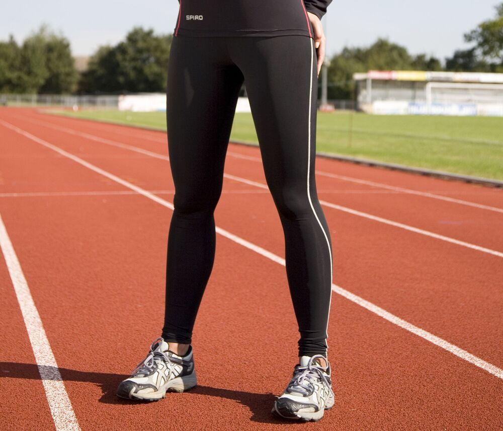 Spiro SP51F - Legging de Sport Femme Quick Dry
