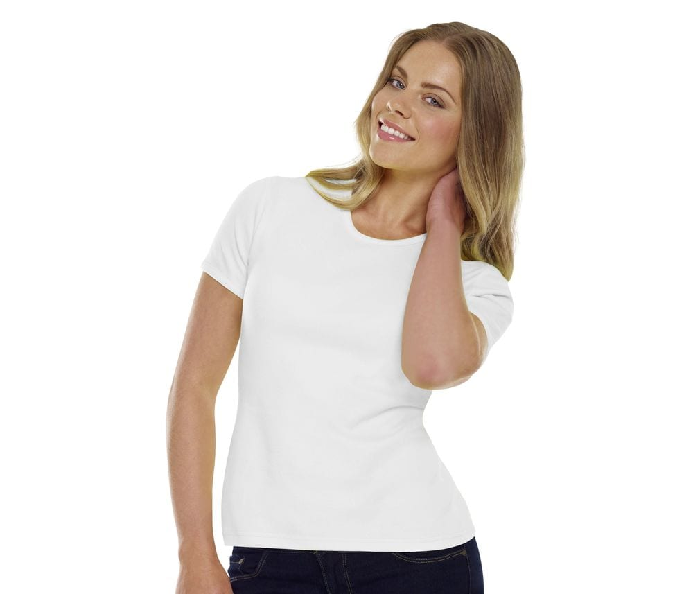 Starworld SW460 - Tee-Shirt Femme 100% Coton Bio