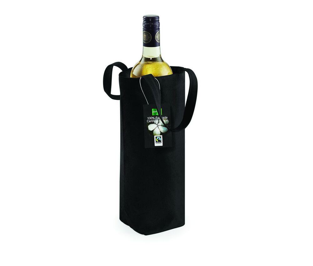 Westford mill WM620 - Fairtrade Cotton Bottle Bag