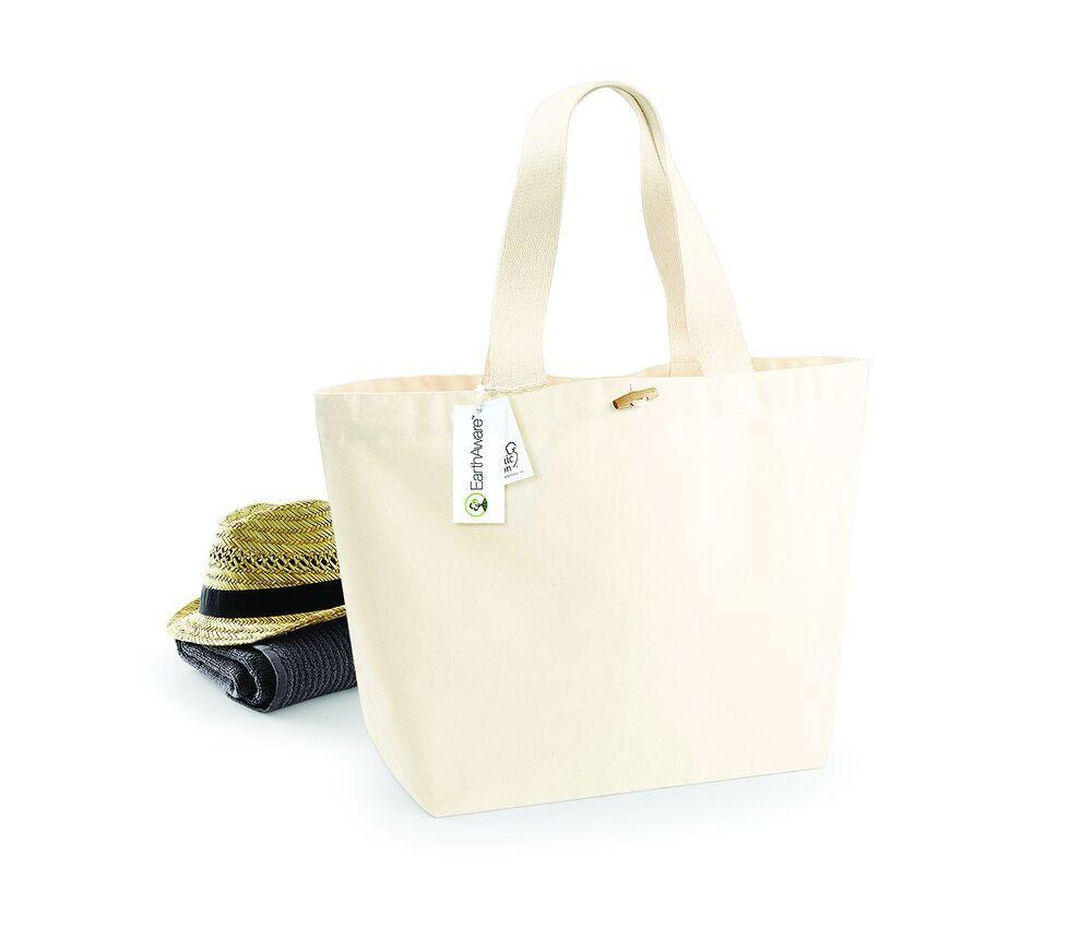 Westford mill WM855 - Large 100% Organic Shopping Bag