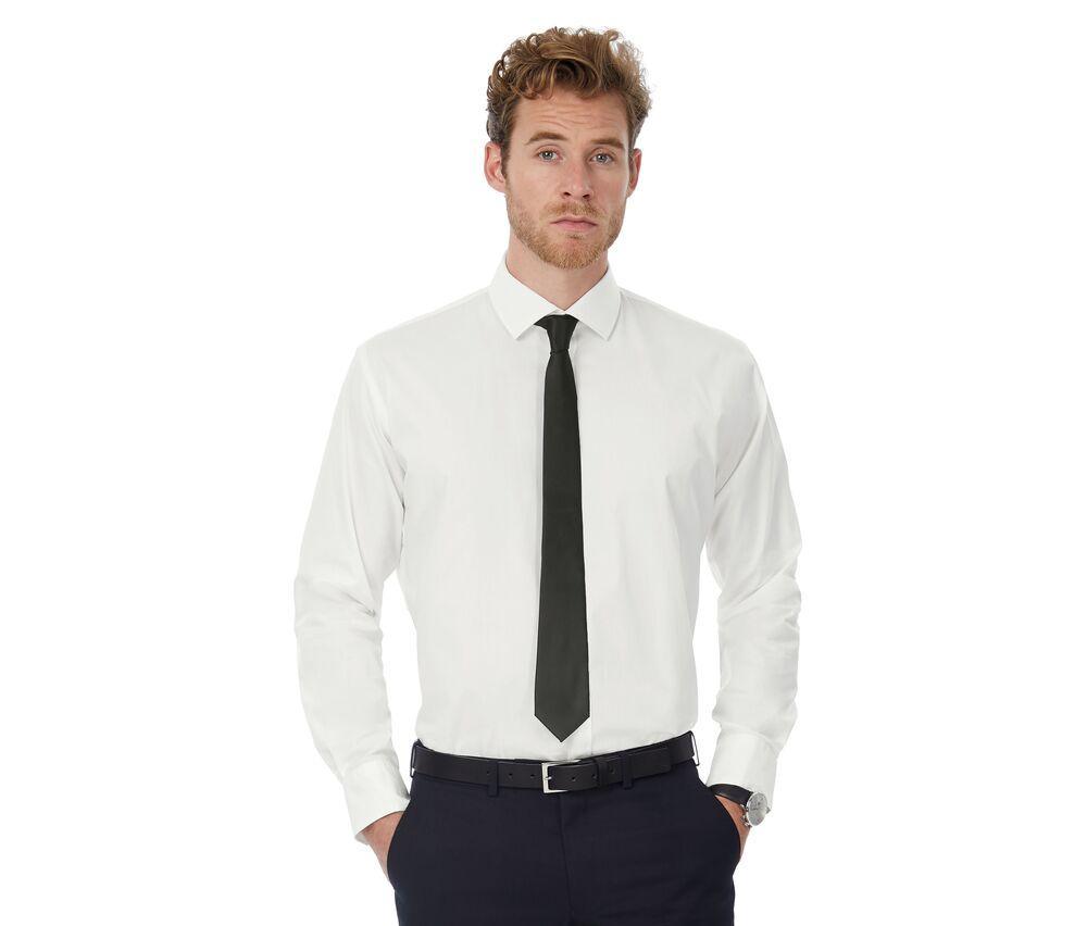 B&C BC710 - Black Tie Long Sleeves Men