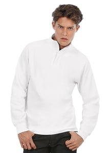 B&C BCID4 - ID.004 sweatshirt met ¼ rits