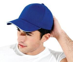 Beechfield BF020 - 6-panelowa czapka sportowa