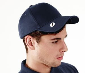 Beechfield BF185 - Gorra visera golf Pro-style ball mark golf