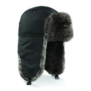 Beechfield BF345 - Chapeau Sherpa Noir
