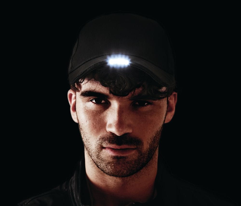 Beechfield BF515 - Casquette Lumineuse LED Homme