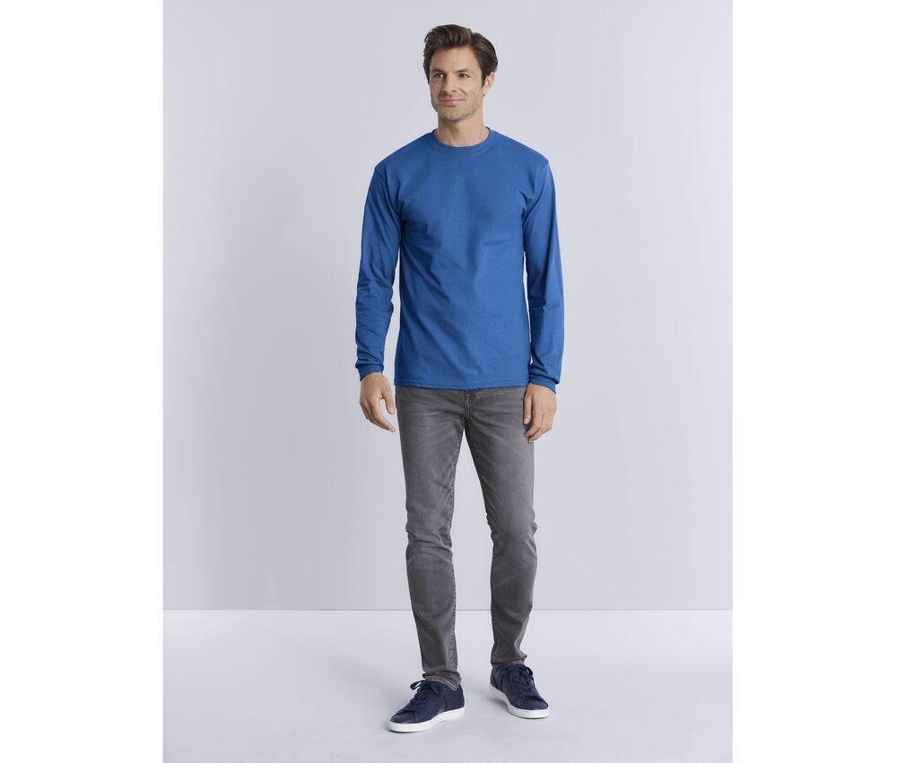 Gildan GN186 - Ultra Cotton Adult Long Sleeve T-Shirt