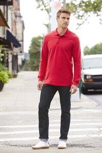 Gildan GN857 - Polo Manches Longues Hommes Premium Coton