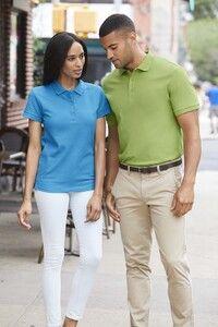 Gildan GN859 - Premium Polo-T-Shirt aus Baumwolle Damen
