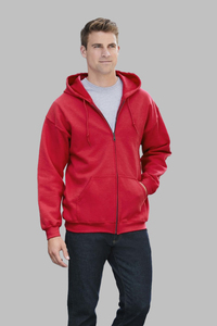 Gildan GN960 - Mens Large Zip Hoodie