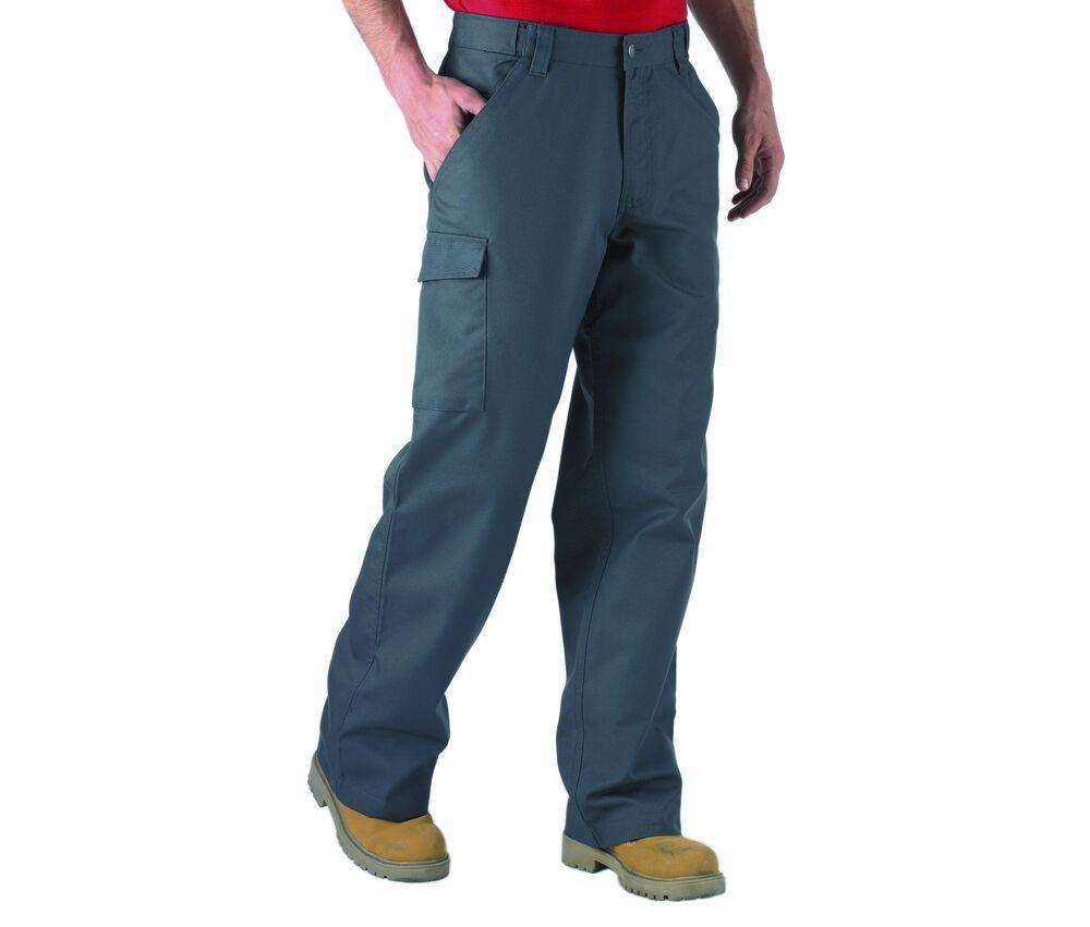 Russell JZ001 - Pantalon de Travail Homme Coupe Moderne