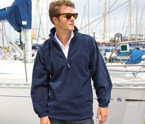 Result RS033 - Mens Zipped Collar Fleece