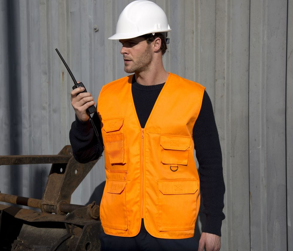 Result RS045 - Gilet Reporter Homme 8 Poches