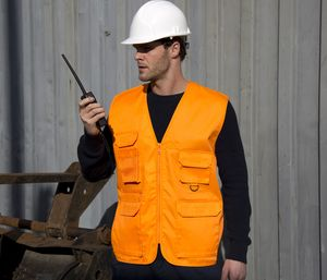 Result RS045 - Work-Guard Safari Waistcoat