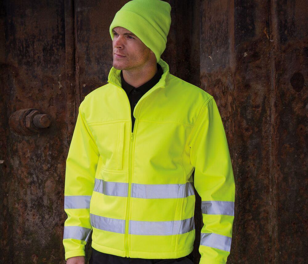 Result RS117 - Safe-Guard Hi-Vis Soft Shell Jacket