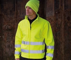 Result RS117 - Safe-Guard Hi-Vis Soft Shell Jacket