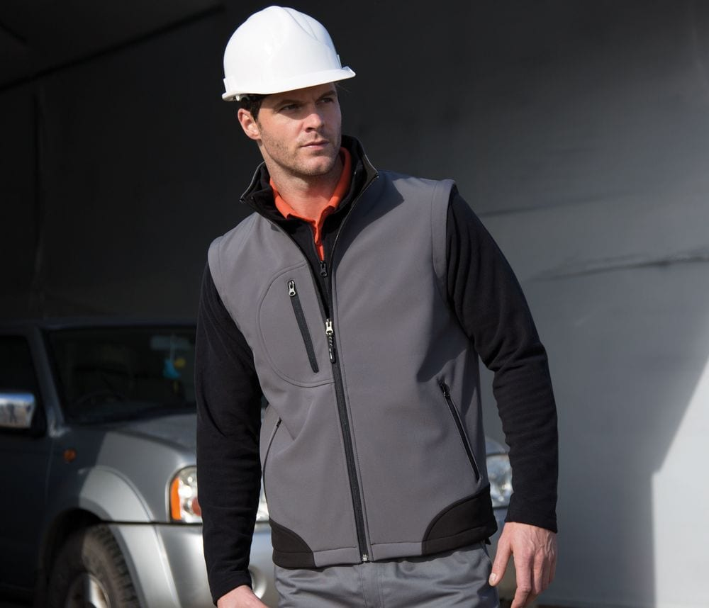 Result RS123 - Gilet Polaire Homme