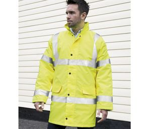 Result RS218 - High Viz Motorway Coat