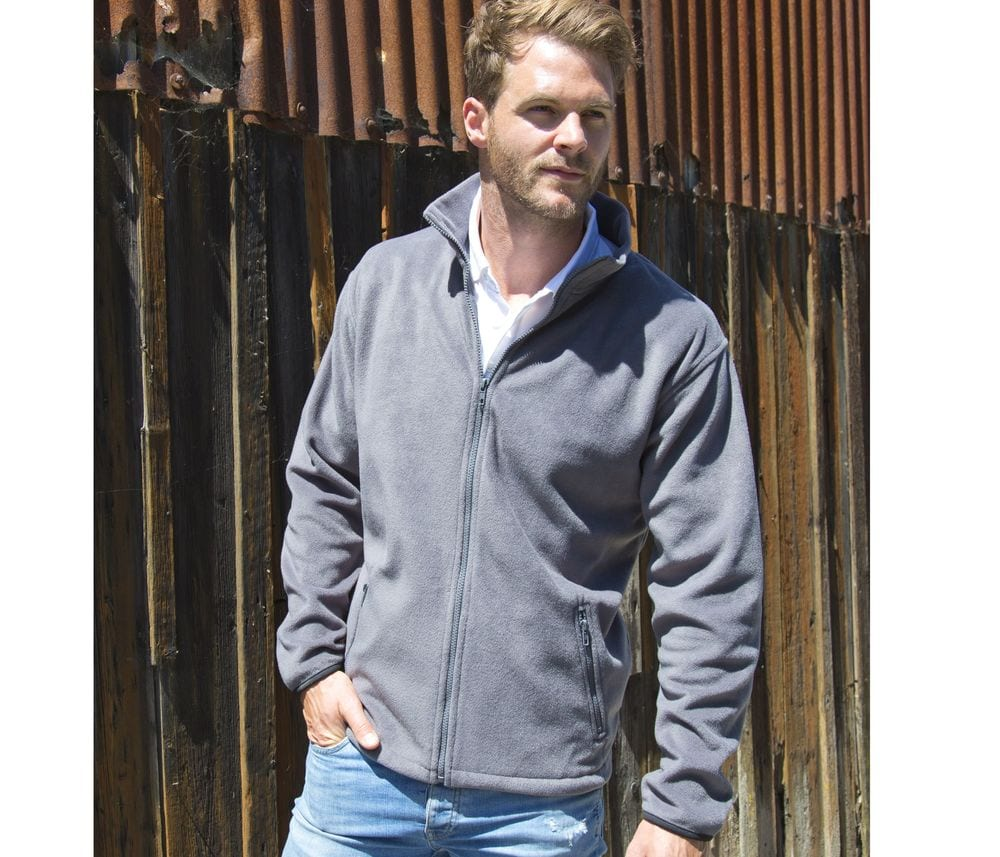 Result RS220 - Polaire Homme Manches Longues Grand Zip