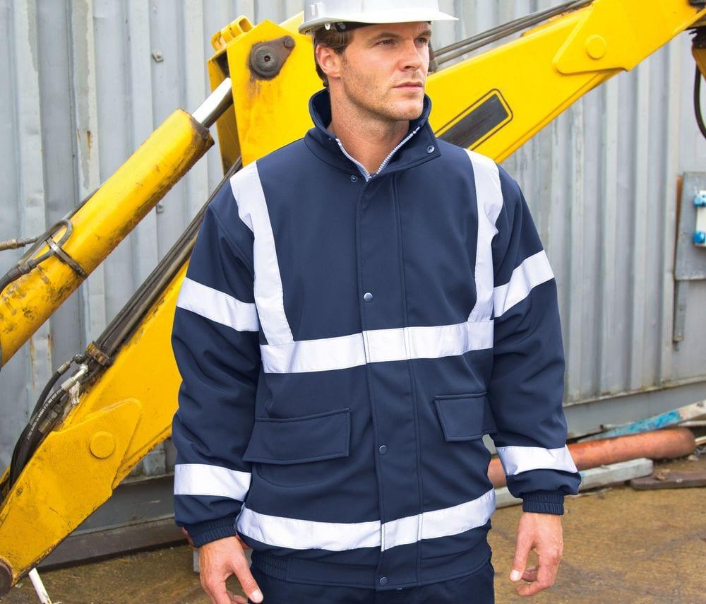 Result RS333 - Safe-Guard Padded Soft Shell Jacket