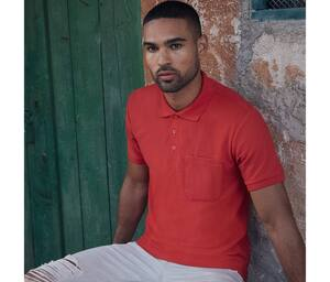 Polo Homme avec Poche Fruit of the Loom SC287
