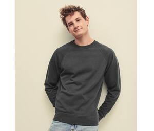 Fruit of the Loom SC360 - Mens Raglan Sweatshirt