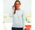 Fruit of the Loom SC361 - Sweat Femme Manches Longues Coton