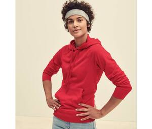 Fruit of the Loom SC363 - Sudadera con capucha lightweight para mujer