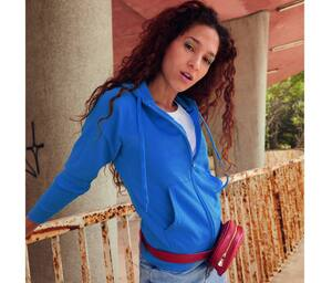 Fruit of the Loom SC368 - Sudadera con capucha lightweight para mujer