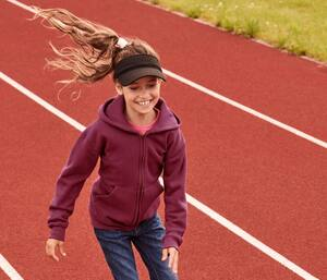 Fruit of the Loom SC379 - Kids Hooded Sweat Jacket (62-045-0)