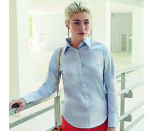 Fruit of the Loom SC401 - Lady Fit Oxford-Hemd mit langen Ärmeln