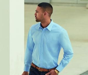 Fruit of the Loom SC410 - Camisa De Popeline Para Homem