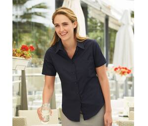 Fruit of the Loom SC416 - Lady-fit poplin short sleeve shirt