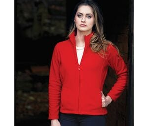 Starworld SW750 - Sweat-Shirt Femme Manches Droites Grand Zip