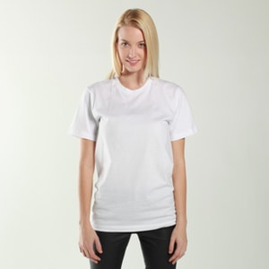 American Apparel  2001  T-shirt unisexe à manches courtes en jersey fin