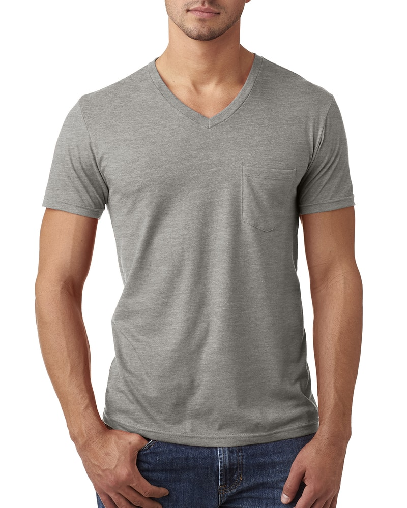 Next Level 6245 - Men's CVC Tee with Pocket