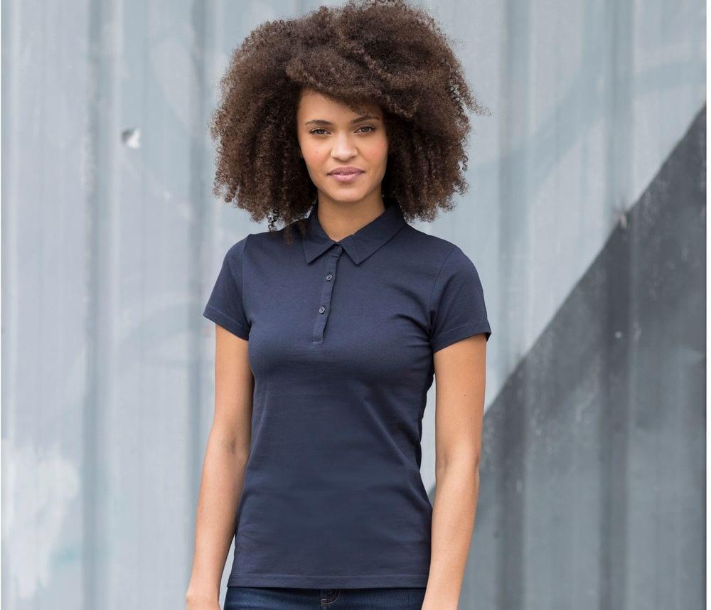 Skinnifit SK440 - SF Ladies Fashion Jersey Polo Shirt