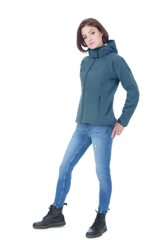B&C BC660 - Hooded Soft-Shell Women
