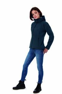 B&C BC660 - Veste Soft-Shell femme à capuche