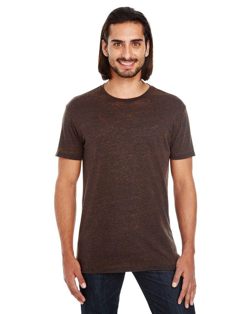 Threadfast 115A - T-shirt unisexe à manches courtes avec teinture croisée
