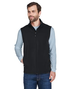 Ash CityCore 365 CE701 - Mens Cruise Two-Layer Fleece Bonded Soft Shell Vest