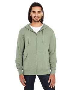Threadfast 321Z - Unisex Triblend French Terry Full-Zip
