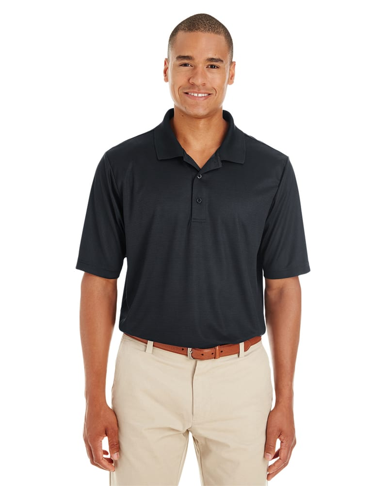 Ash CityCore 365 CE102 - Men's Express Microstripe Performance Piqué Polo