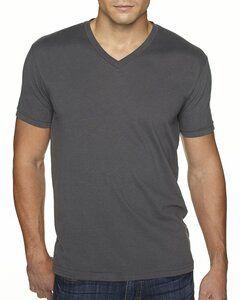 Next Level 6440 - T-shirt à col V en suédine Premium pour homme