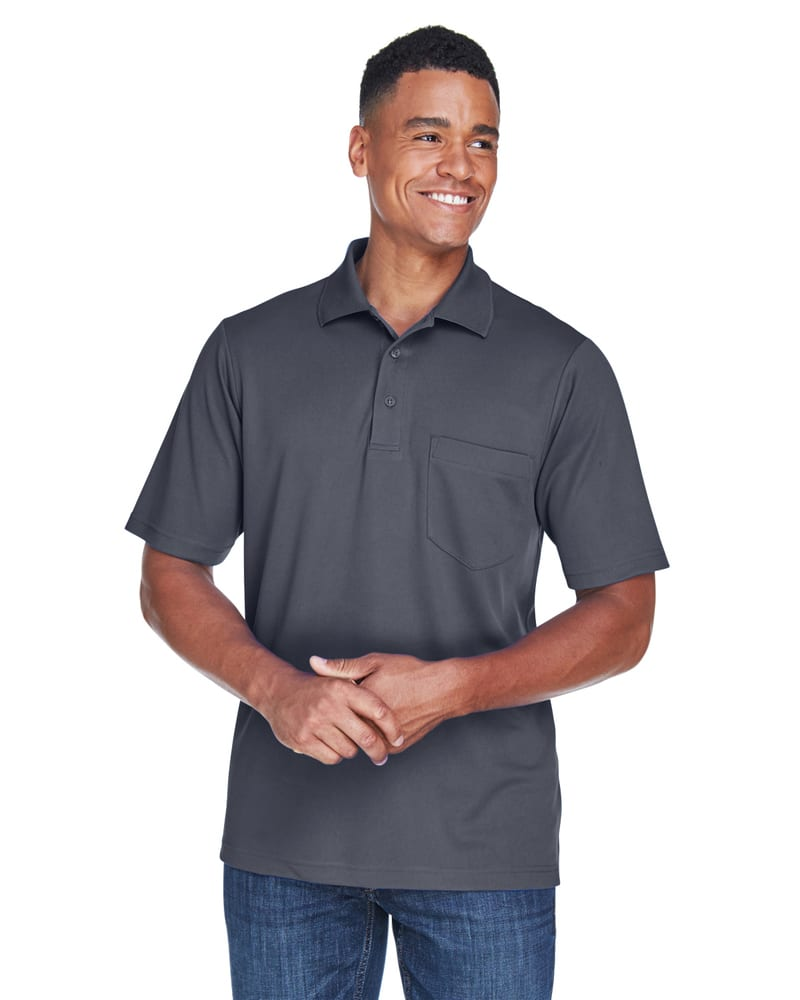 Ash CityCore 365 88181P - Men's Origin Performance Piqué Polo with Pocket