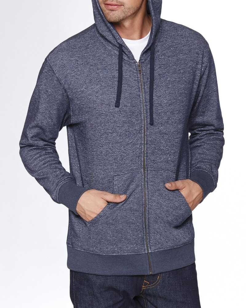 Next Level 9600 - Adult Denim Fleece Full-Zip Hoody